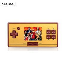 SCOMAS RS-20 Bulit 600 Games 2.6 inch Retro Classic Nostalgic Handheld Game Console Portable Mini Video Game Console Player(China)