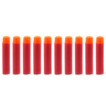 60 Pcs 9.5x2mm Red Big Refill Darts for Nerf Kids Toy Sniper Rifle Gun Hole Head Bullets Birthday Gift Outdoor Game Toy(China)