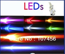 Free Shipping (800pcs=100pcsx8) 3mm Ultra Bright red/yellow/blue/green/white/uv/orange/pink LED+Fast Shipping