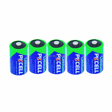 5Pcs 3V CR2 CR15H270 850mAh Li-MnO2 850mAh CR2 3V Lithium Battery(China)