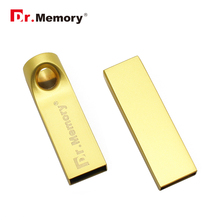 Dr. Memory 32GB 16GB 8GB 4GB USB Flash Drive Stainless metal USB 2.0 Flash Memory Pen Drive gift pendrive disk USB Stick