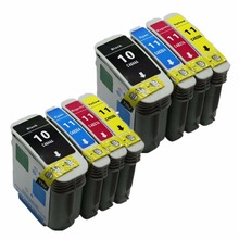 2 Set Ink Cartridges Cartridge For HP HP10 11 XL HP10XL 10XL C4844A Officejet Pro K850 K850dn 9100 9110 9120 9130 Inkjet Printer