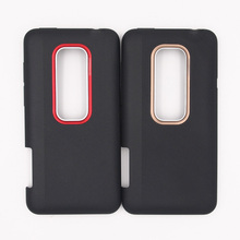 ZUCZUG New Battery Door Back Cover Housing Case For HTC EVO 3D X515 G17 With Power Volume Buttons(China)