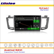Liislee Car Android GPS Navi Navigation System For Toyota RAV4 XA40 2013~2016 Radio Stereo Video Multimedia ( No DVD Player )(China)