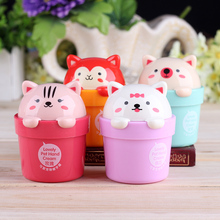 Mini Cute Cartoon Cat Pet Animals Bear Fruity Whitening Anti-Chapping Hand Cream Moisturizing Cream Nourishing 50g M4007(China)
