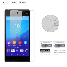 The clear anti smudge anti dust tempered glass screen protector for Sony Z4(China)