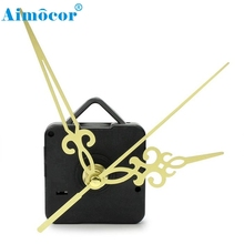Home Supplies Hot New Simple Gold Hands DIY Quartz Wall Clock Movement Mechanism Replacement High Quality 0529(China)