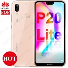 Huawei P20 Lite Global Firmware Nova 3e Dual SiM Smartphone Face ID 5 84''  Full Screen Android 8 0