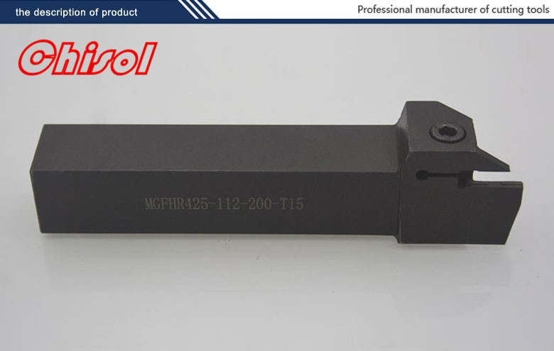 high quality Lathe tool holders Turning tools Grooving tool holder cutter MGFHR425-112/200-T15 for carbide inserts MGMN400-M <br>