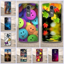 For LG Spirit 4G LTE H440Y H420 H422 H440N Silicon Shell 3D Flower Painted For LG Spirit Case Soft TPU Back Cover Phone Cases