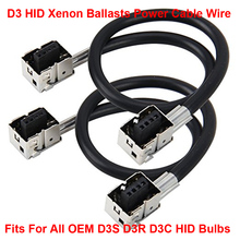 Buy 2PCS D3 D3S D3R D3C OEM HID Xenon Headlight Bulbs Lamps Ballasts Wire Harness Cable Adapter Holder Wiring Socket Plug N Play for $6.64 in AliExpress store