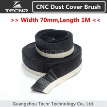 1M x 70mm Brush Vacuum Cleaner Engraving Machine Dust Collector Cover For CNC Router(China)