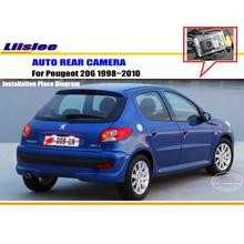 Liislee Car Rear View Camera For Peugeot 206 1998~2010 / Reverse Camera / HD CCD RCA NTST PAL / License Plate Light OEM(China)