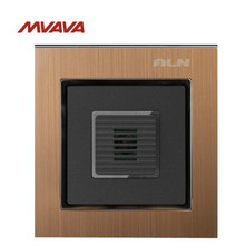 Free Shipping,Manufacturer, MVAVA Voice Light Control 45S Delay Timer Switch Sound & Light Control/Motion Sensor Time-Delay Gold