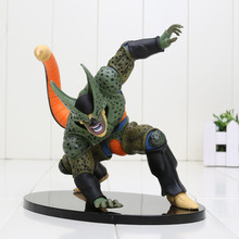 18cm Dragon Ball Z Figure DXF Cell PVC Dragon Ball Z Action Figure DBZ Cell Second Model DragonBall Z(China)