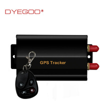 GPS tracker Supports the remote control,Real-Time GSM/GPRS Tracking Vehicle Car GPS Tracker 103(China)