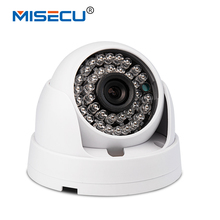 MISECU 3.6mm wide angle 1MP Onvif 1280*720P HD ABS IP Camera default 3.6mm 25fps dome Smart Phone View 36pc IR Night Vision CCTV