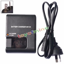 Original Hot Sal MH-25 Travel Battery Charger For Nikon EN-EL15 D7100,D600,D800,D7000 Digital Camera Battery Charger For AU(China)