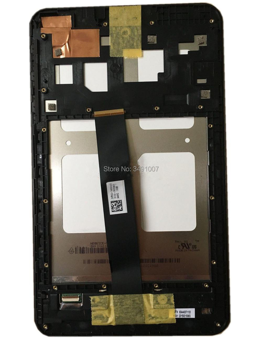 LED LCD Touch Screen Digitizer Assembly Frame For ASUS MEMO PAD 8 ME181CX K011 <br>