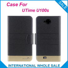 Super Hot! UTime U100s Case,5 Colors Fashion Business Magnetic clasp Flip Leather Exclusive Case For UTime U100s(China)