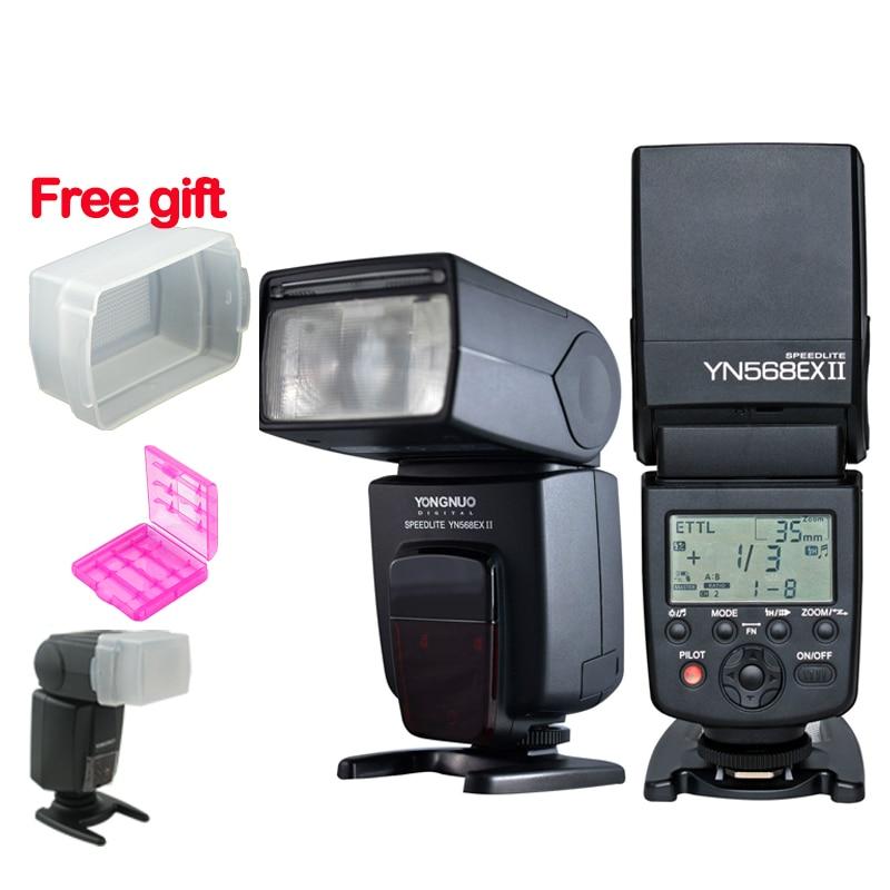 YONGNUO YN-568EX II YN568EXII  E-TTL Master &amp; Slave  Flash Speedlite for Canon 1Dx 1D 5DIII 5DII 5D 7D 60D 50D 40D 30D 20D 700D<br><br>Aliexpress