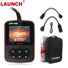 Original Launch CR-HD OBD2 Truck Code Reader Scanner Support J1939 J1708 Protocols OBD Diesel Heavy Duty Truck Diagnostic Tool
