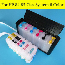 Free Post!! Continuous Ink Supply System For HP 84 85 Designjet 130 90 30 Printer With HP84 85 Ciss ARC Chip