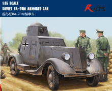 RealTS HobbyBoss 1:35 83884 Soviet BA-20M Armored Car  - hobby boss