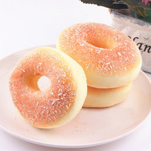 1pc Artificial Fake Bread Donuts Doughnuts Simulation Model Ornaments Cake Bakery Room Home Decoration Craft Toys