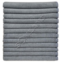 "Sinland 12PC/lot 12""x12"" Absorbent Microfiber Towels Micro Fiber Cleaning Cloths Wiping Dust Rugs Manufacturer(China)"