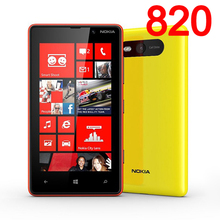 Original NOKIA Lumia 820 Mobile Phone Windows Phone Unlocked refurbished Perfect Phone