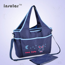 Fashion Baby Diaper Bags Stuff Organizer Stroller Nappy Changing Shoulder Mummy Waterproof Brand Maternal Carter Set Bags C1034
