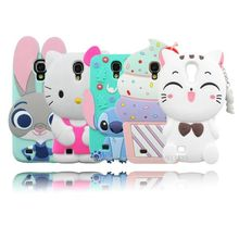 For Samsung Galaxy S4 Case Batman Hello Kitty Pig Minnie Minions Stitch Cupcakes Sulley Unicorn Cases Cover For Samsung S4 i9500(China)