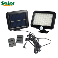 56 LED Solar Light With Line For Indoor Or Outdoor Use Garden Fence Lawn PIR Motion Sensor Bright Solar Power Lamp Lights