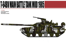 ModelCollect UA72023 1/72 Scale Russian Russia T-64BV MBT Plastic Model Building Kit