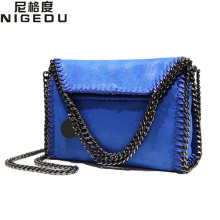 2017 New Women Message Bag Fashion Chains Crossbody bags for Woven's Shoulder bag bolsa feminina carteras mujer stella handbags