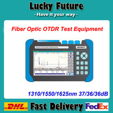 Fiber Optic Test Equipment Visual Fault Location Function OTDR 1310/1550/1625nm