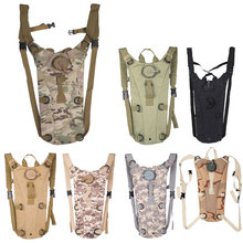 3L Camel Water Bladder bag Portable Hydration Packs Camo Tactical Bike BicycleAssault Backpack Camping Hiking Pouch Water Bag(China)