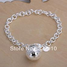H043 Free Shipping Wholesale Price Can Custom Hand Made Fashion Jewelry 925 Silver-Filled Bracelet(China)