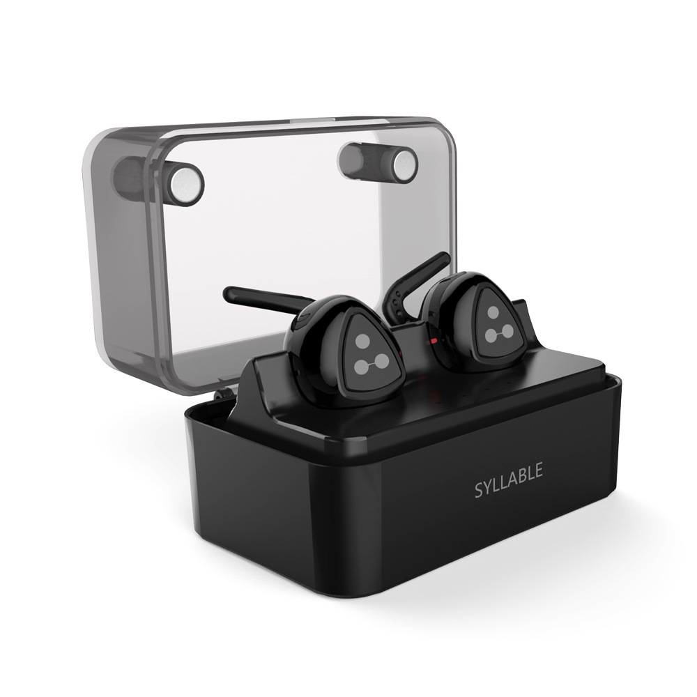 100% ORIGINAL Syllable D900 MINI D900S Updated Version Stereo Bluetooth Earphone Headset Wireless Earbuds with Charge Box<br><br>Aliexpress