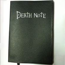 2017 Hot Fashion Notebook Vintage Anime Theme Death Note Diary A5 Cosplay Notebook Stationery Office Supplies Anime Props