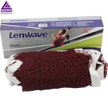 "6m x 0.75m Dark Red ""badminton net"" Standard Size Good For indoor And Outdoor Sports Training(China)"