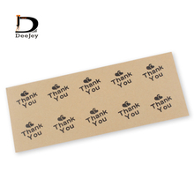 Stock Envelope Sealing Sticker Kraft Paper Stickers DIY Hand Made Gift /Cake /Candy paper tags 60 - CustomBase Store store