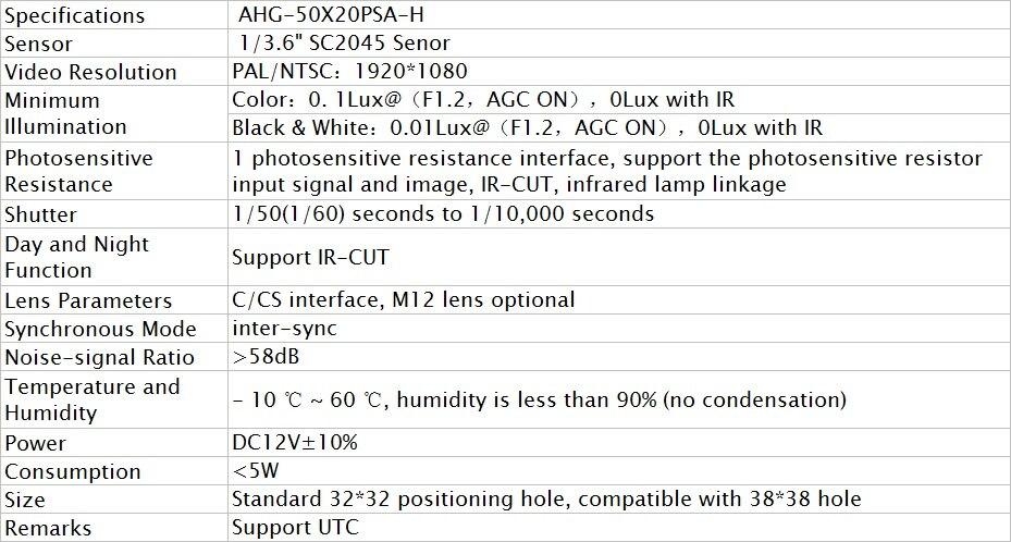 AHG50X20PSA-H-4