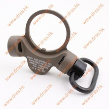 Drss Troy Steel Dual Side QD Sling Swivel Dark Earth For GBB Version(DS1934B)(China)