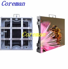 Coreman best price P6 indoor stage rental led display screen for smd led display,p6 thin slim rental SMD p2.5 p3 p4 p5(China)