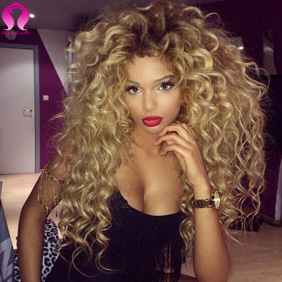 8A Ombre Curly Hair Weave Bundles Afro Kinky Curly Virgin Hair Ombre Blonde Human Hair Extensions Ombre Malaysia Hair Deep Wave<br><br>Aliexpress