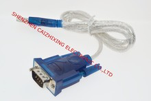 HL-340 New USB to RS232 COM Port Serial PDA 9 pin DB9 Cable Adapter support Windows7-64(China)