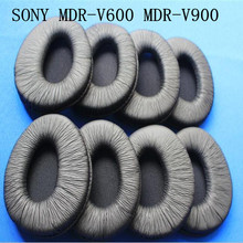 Buy Linhuipad 10pcs 5pair Soft leatherette ear cushion earpads fit Sony MDR-V600 MDR-V900 headphones for $18.91 in AliExpress store