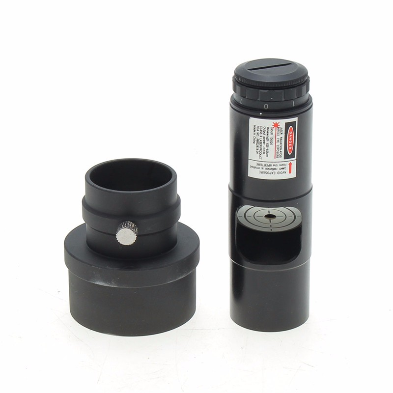 2017 New Alignment 2 inch Laser Collimator Eyepiece adapter for Newtonian Telescope Astronomical Collimation (without Battery)<br>